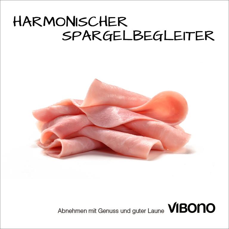 Schinken, harmonischer Spargelbegleiter Nr. 2