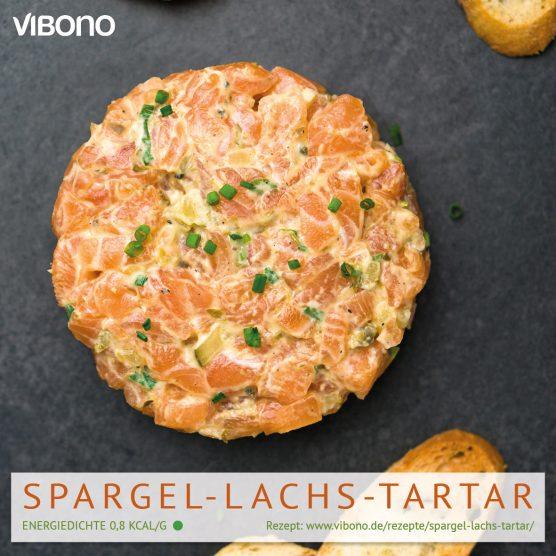 Spargel-Lachs-Tartar