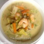 Thai-Suppe mit Curry