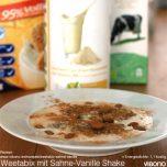 Weetabix mit Sahne-Vanille Shake