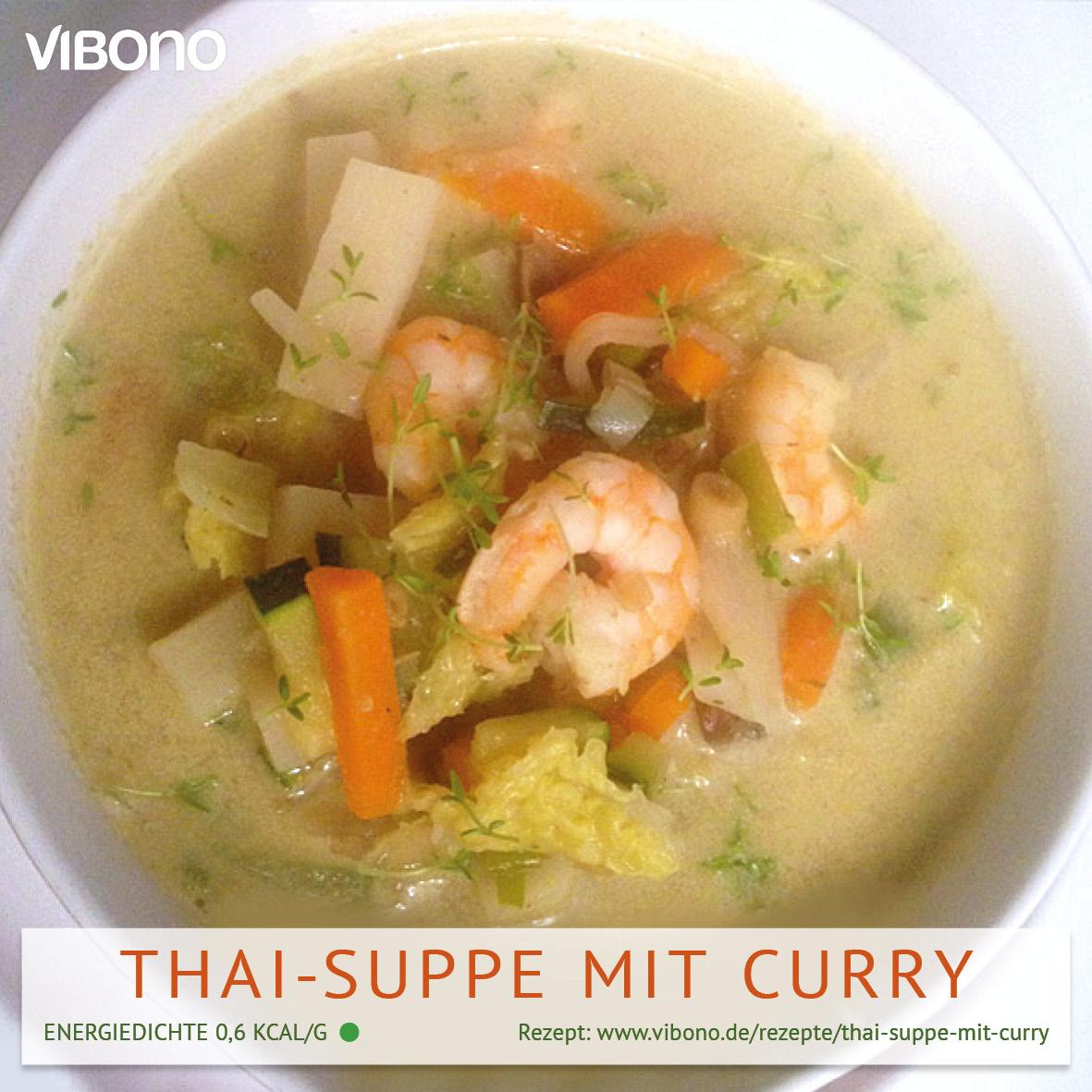 Thai-Suppe mit Curry