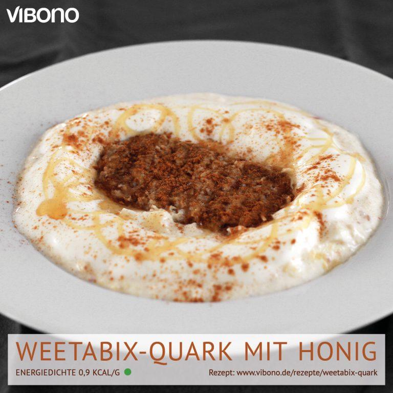 Weetabix-Quark mit Honig
