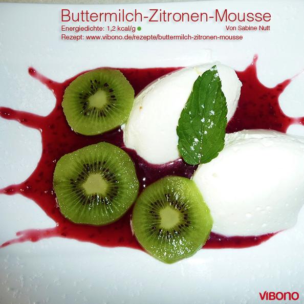Buttermilch-Zitronen-Mousse
