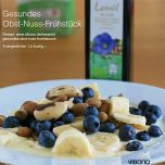 Gesundes Obst-Nuss-Frühstück