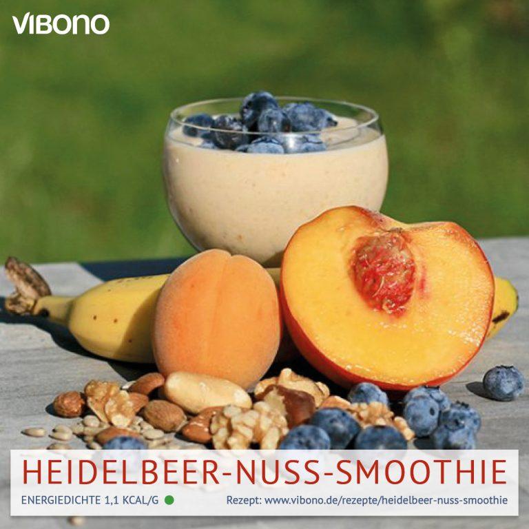 Heidelbeer-Nuss-Smoothie
