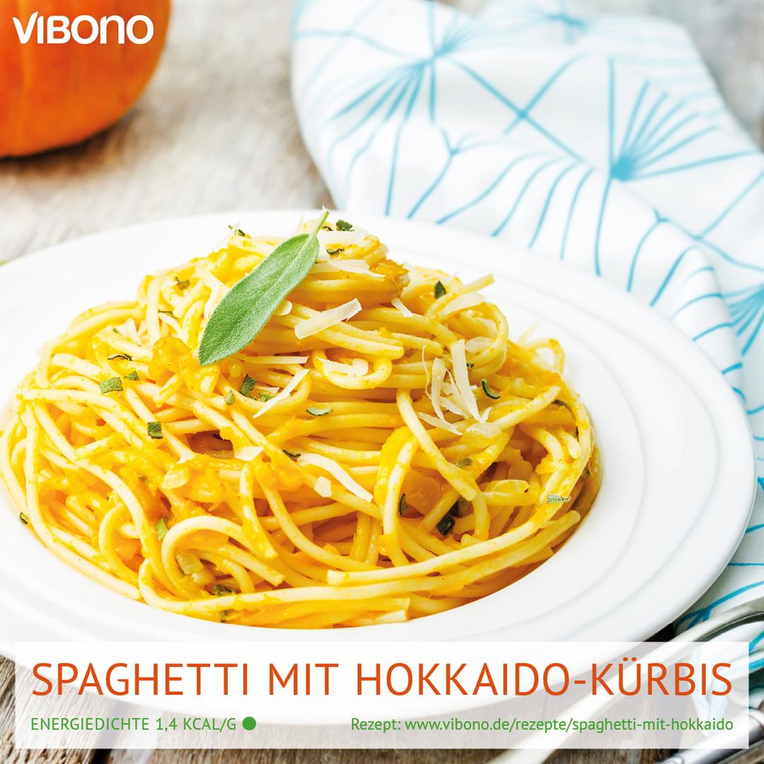 Spaghetti mit Hokkaido-Kürbis