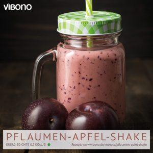Pflaumen-Apfel-Shake