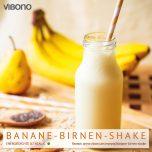 Banane-Birnen-Shake