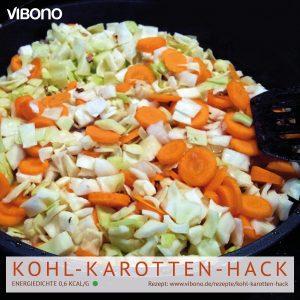 Kohl-Karotten-Hack