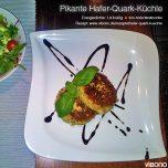 Pikante Hafer-Quark-Küchle