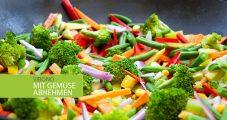 Wieso man mit Gemüse so gut abnehmen kann