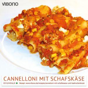 Cannelloni mit Schafskäse und Hähnchenbrust