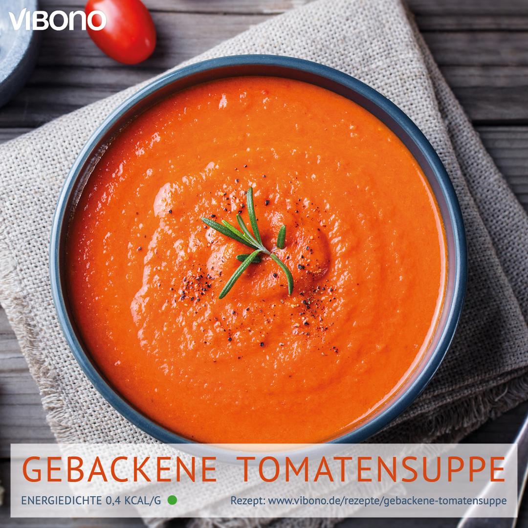 Gebackene Tomatensuppe