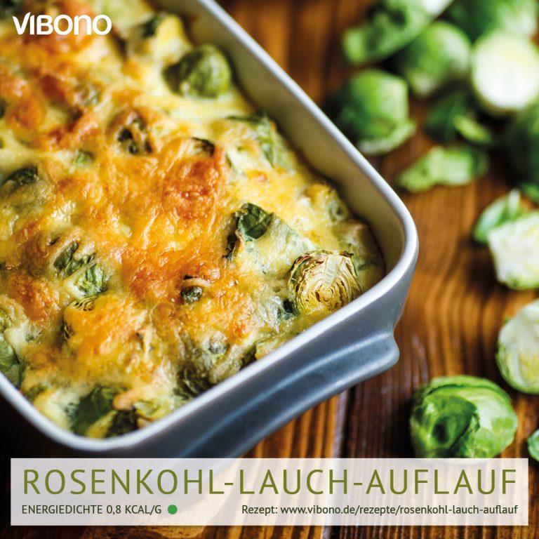 Rosenkohl-Lauch-Auflauf