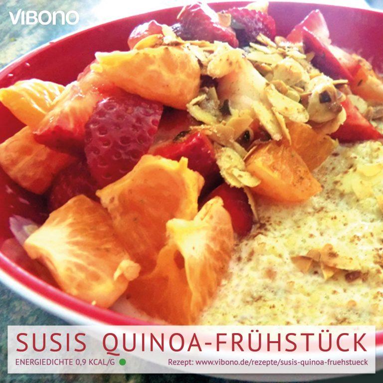 Susis Quinoa-Frühstück