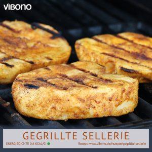 Gegrillte Sellerie