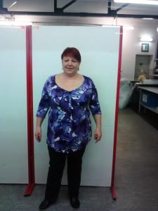 Glasstetter Michaelia: Minus 13,8 kg, Vibono spendet 14 €