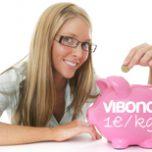 Diana Plack: Minus 14 kg, Vibono spendet 14 €