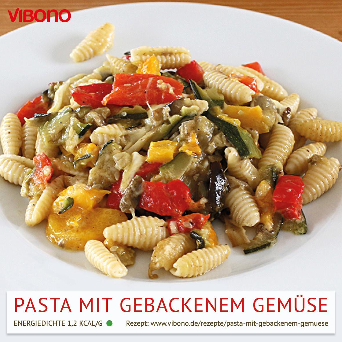 Pasta mit gebackenem Mozzarella-Gemüse