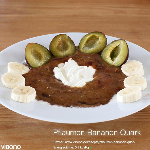 Pflaumen-Bananen-Quark