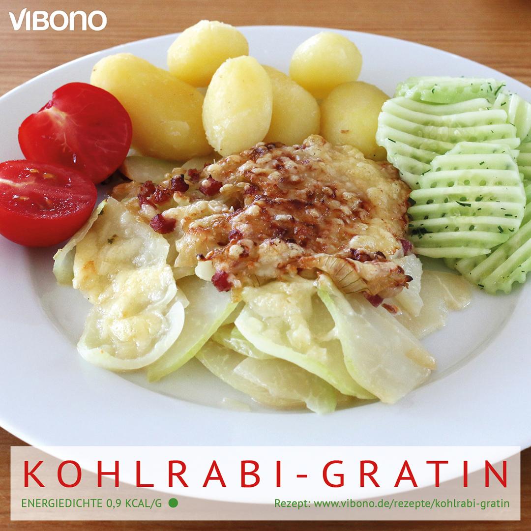 Kohlrabi-Gratin