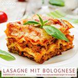 Lasagne mit Bolognese