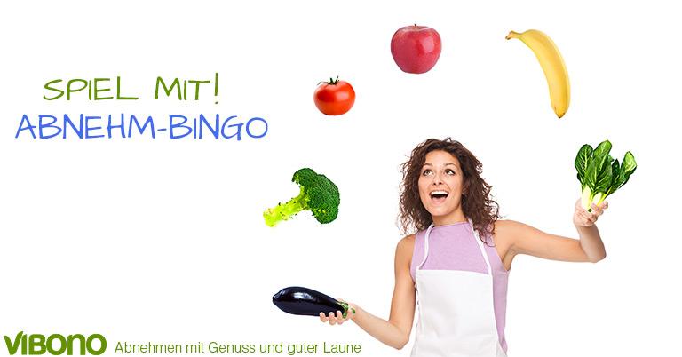 Spielt mit Abnehm-Bingo!