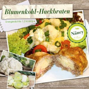 Blumenkohl-Hackbraten