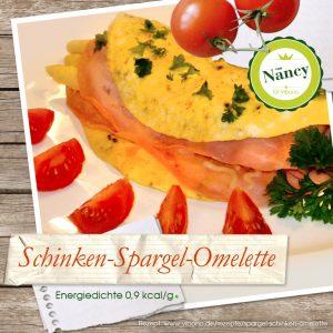 Schinken-Spargel-Omelette