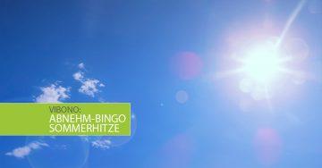 Abnehm-Bingo Sommerhitze