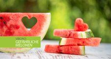 Wassermelonen – beliebt aber Figur gefährdend