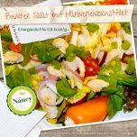 Bunter Salat mit Hähnchenbrustfilet
