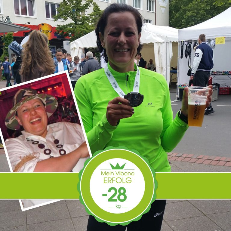 """Vom """"runden Klops"""" zur Marathonläuferin – Ohne Vibono hätte ich das nie geschafft!"""