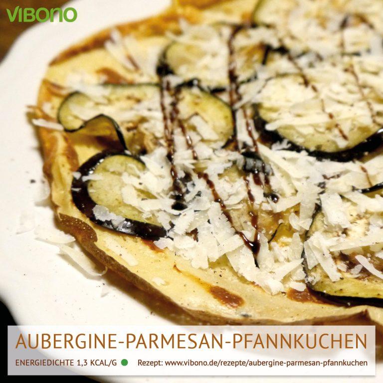 Aubergine-Parmesan-Pfannkuchen