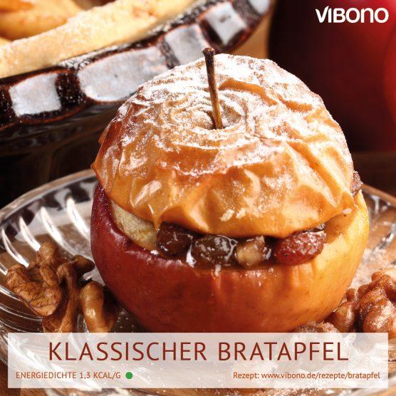 Klassischer Bratapfel