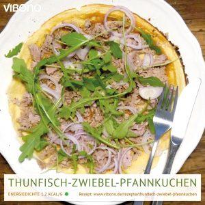 Thunfisch-Zwiebel-Pfannkuchen
