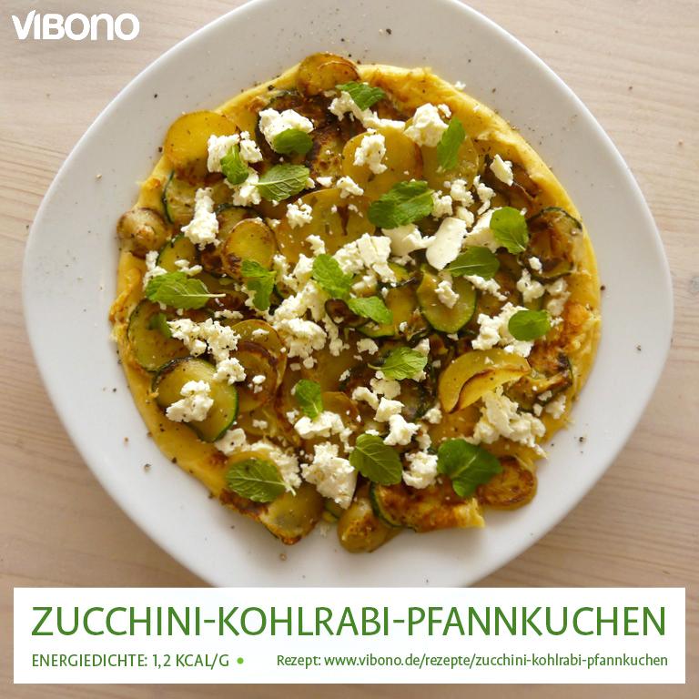 Zucchini-Kohlrabi-Pfannkuchen