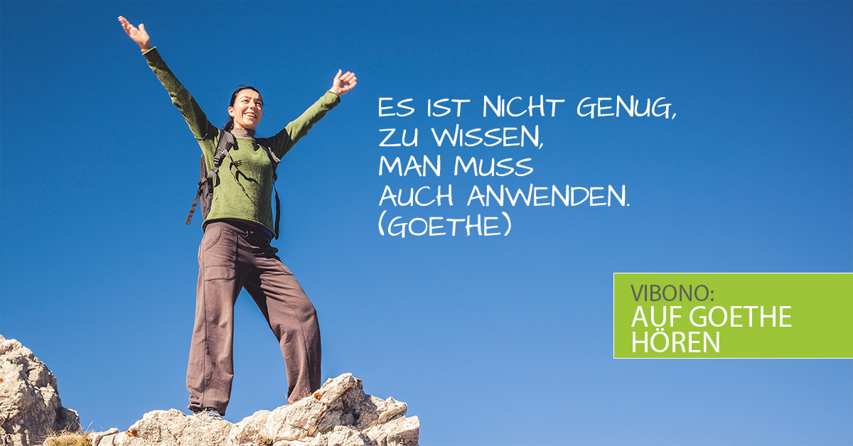 Beim Abnehmen auf Goethe hören!