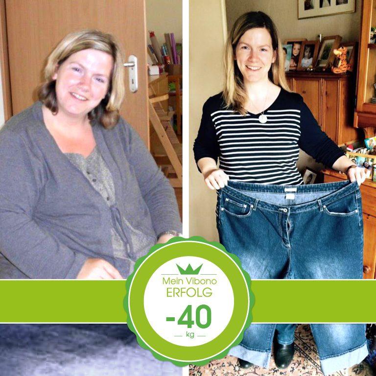 Minus 40 kg in zwei Jahren