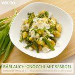 Bärlauch-Gnocchi mit Spargel