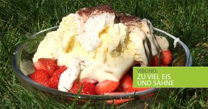 Wie man aus Erdbeeren eine Kalorienbombe macht