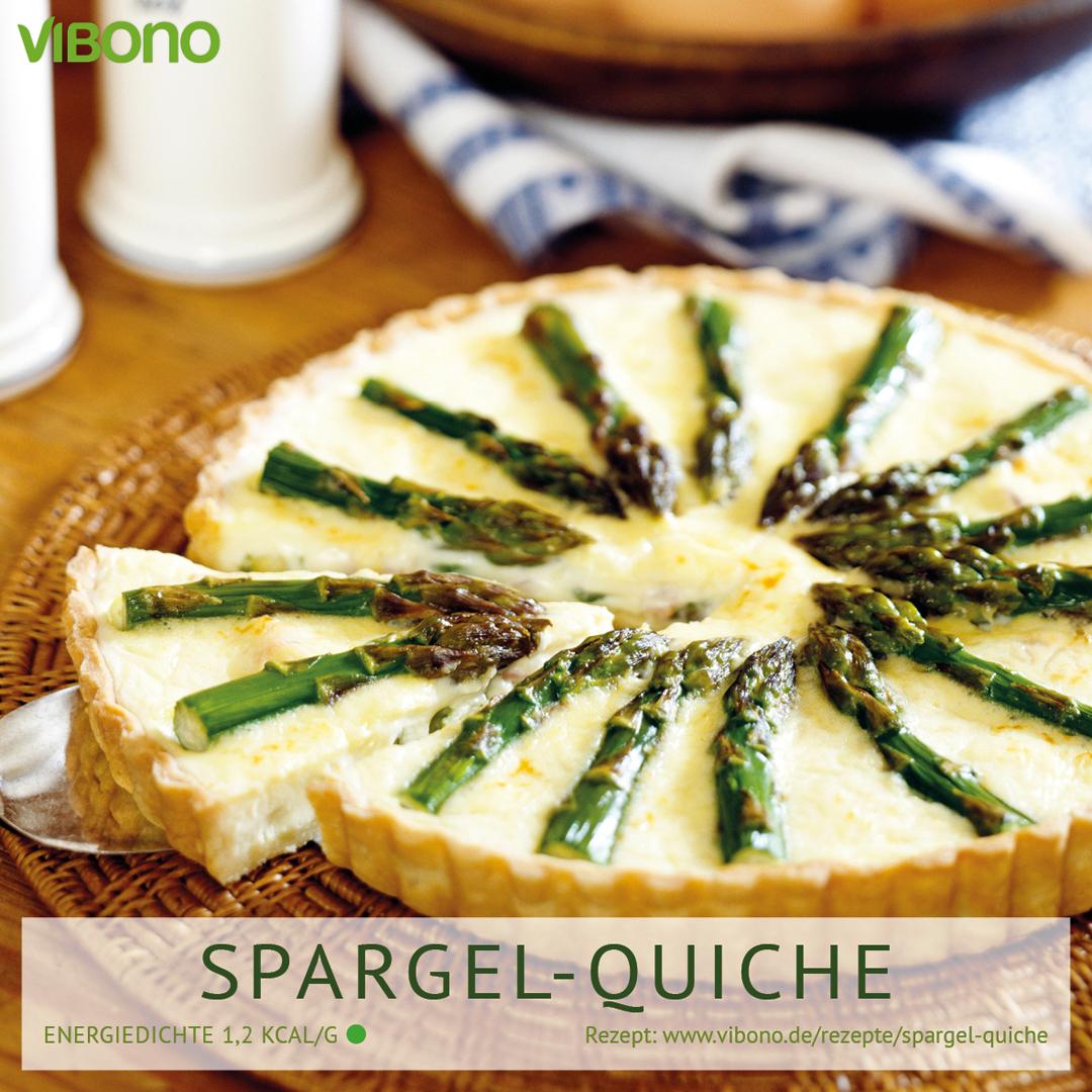 Spargel-Quiche