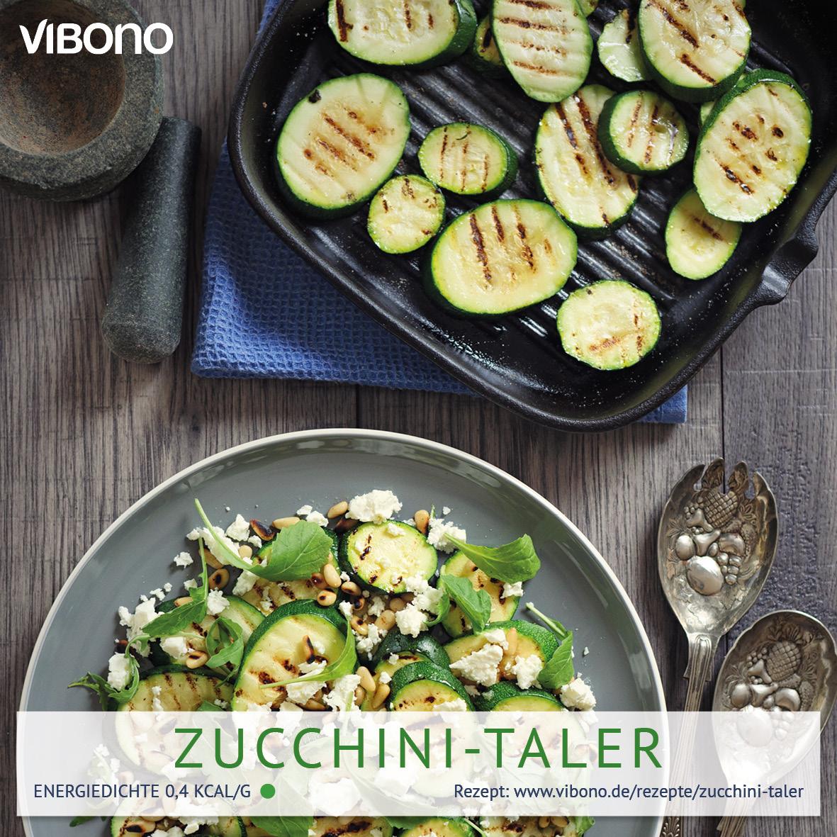 Zucchini-Taler