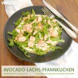 Avocado-Lachs-Pfannkuchen