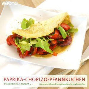 Paprika-Chorizo-Pfannkuchen