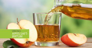 Der Apfelsaft-Irrtum