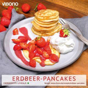 Erdbeer-Pancakes
