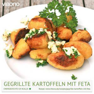 Gegrillte Kartoffeln mit Feta