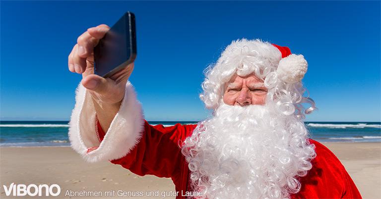 """Selfie für die """"10-Kilo-bis-Weihnachten-Challenge"""" machen"""