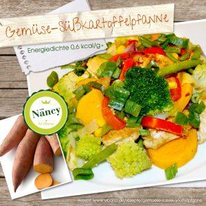 Gemüse-Süßkartoffelpfanne
